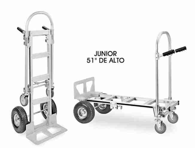 diablito convertible de aluminio