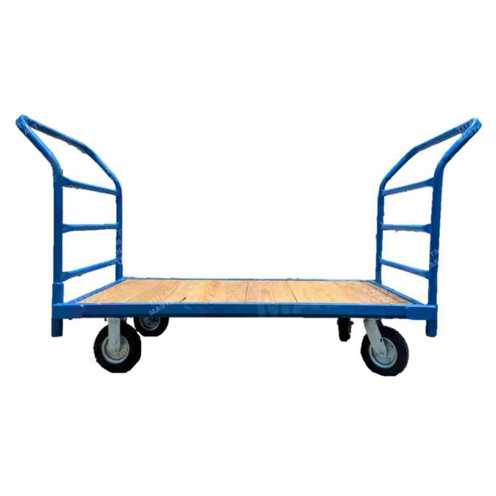 plataforma de carga madera