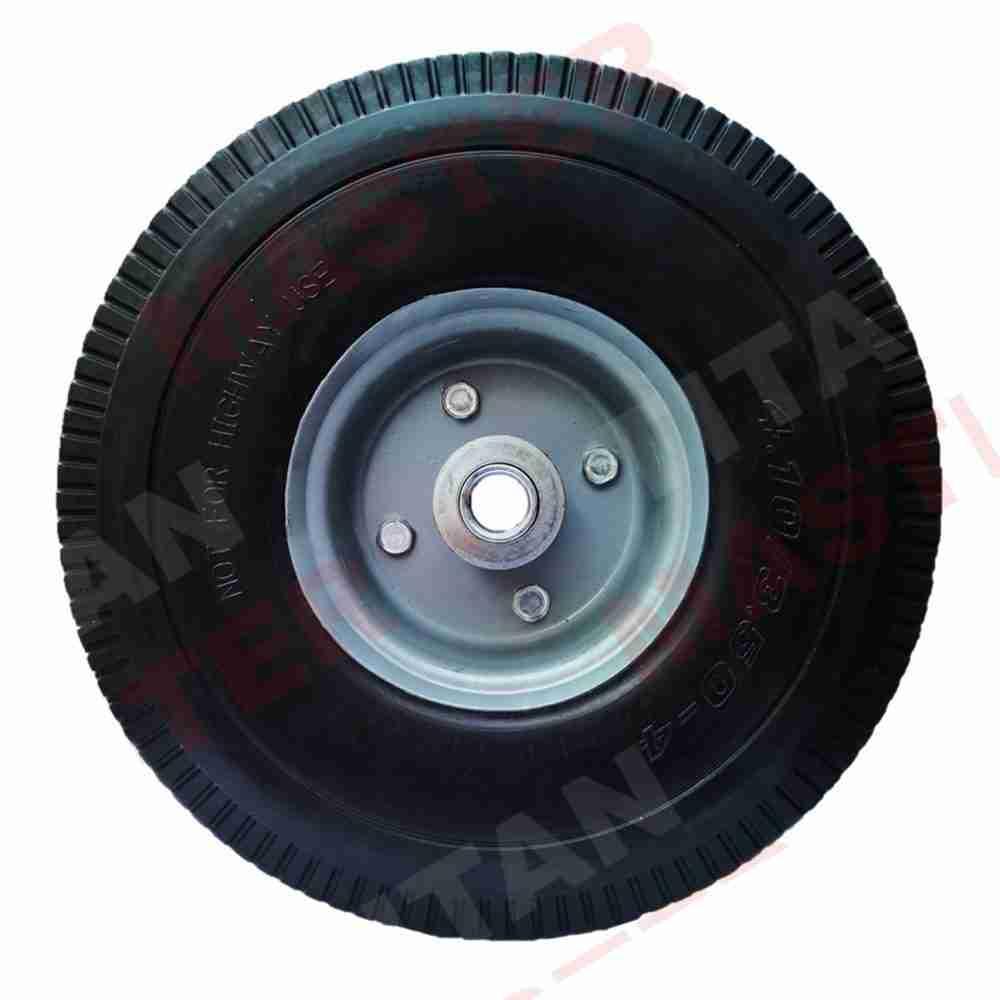 rueda imponchable 10 pulgadas tubo central