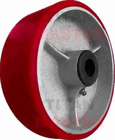 rueda de poliuretano de fierro